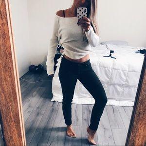 Green LC Lauren Conrad Jeans